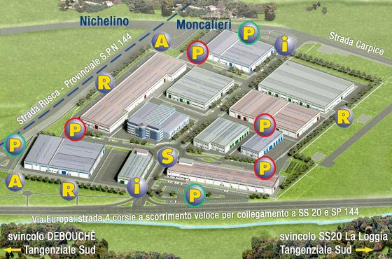 Le fucine di carpice progetto capannoni industriali for Affitto moncalieri privato arredato